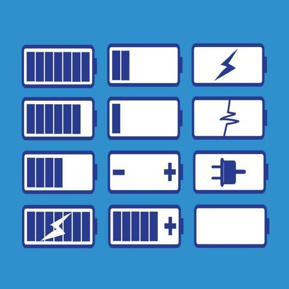 Blue Battery Charge Icon Battery Icons Blue Icons Accumulator Png And Vector With Transparent Background For Free Download Battery Icon Free Vector Illustration Font Illustration
