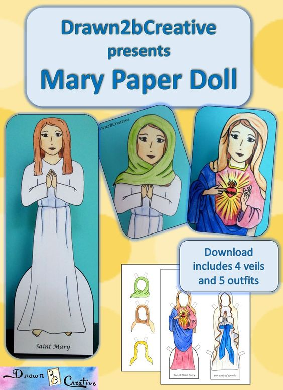 Mary Paper Doll badge