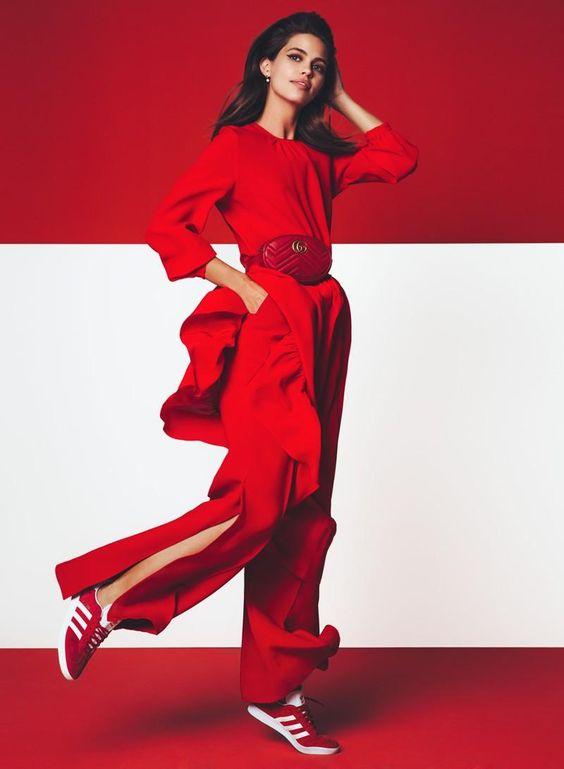 Rosso Autunno / Glamour Italia 2017