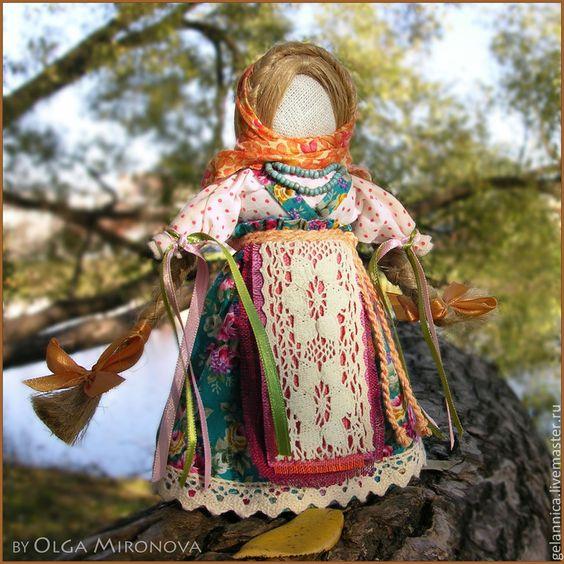 Кукла оберег желание