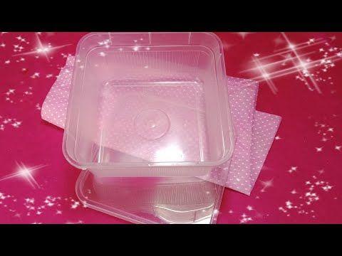 فكرة تجنن من العلب البلاستيك Diy Crafts Crafts Container