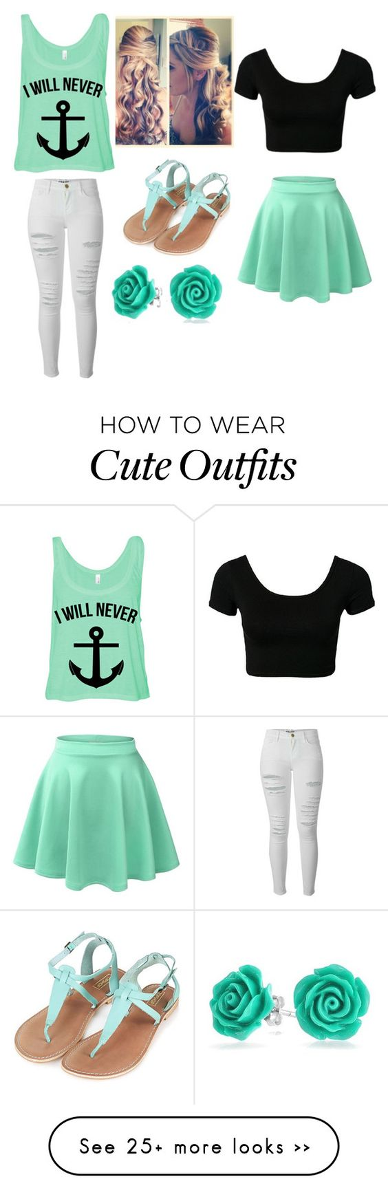 """""""Love them both"""" by bearswart on Polyvore featuring Frame Denim, Bling Jewelry and Topshop"""