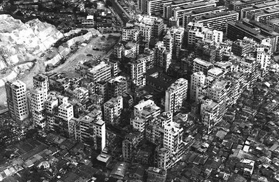 Kowloon en 1971, en una fotografía aérea tomada por el gobierno de Hong Kong.