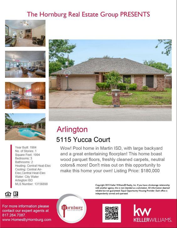 5115 Yucca Arlington, TX 76017