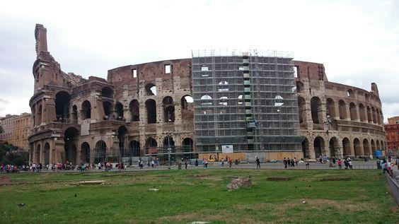 Rom ~ Colloseum ~ leider mit Baustelle