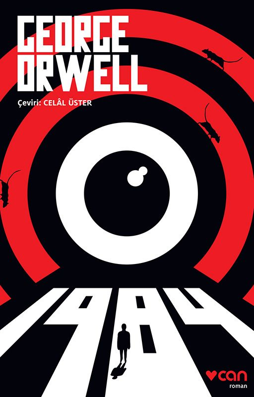 George Orwell 1984 book cover design: Books Worth, Orwell 1984, Books Cover, Favourite Books