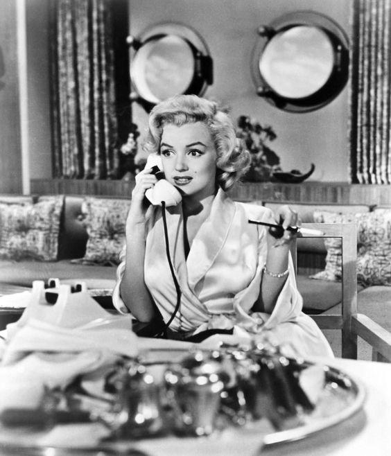 The Sexiest Movie Hairstyles -- Gentleman Prefer Blondes -- Marilyn Monroe