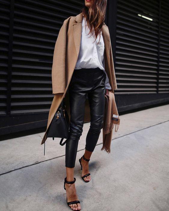 De mooiste looks met een leren broek! #stylemyday