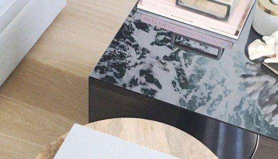Ikea Lack Tisch Hack Mit Plexiglas Ikea Lack Table Hack With