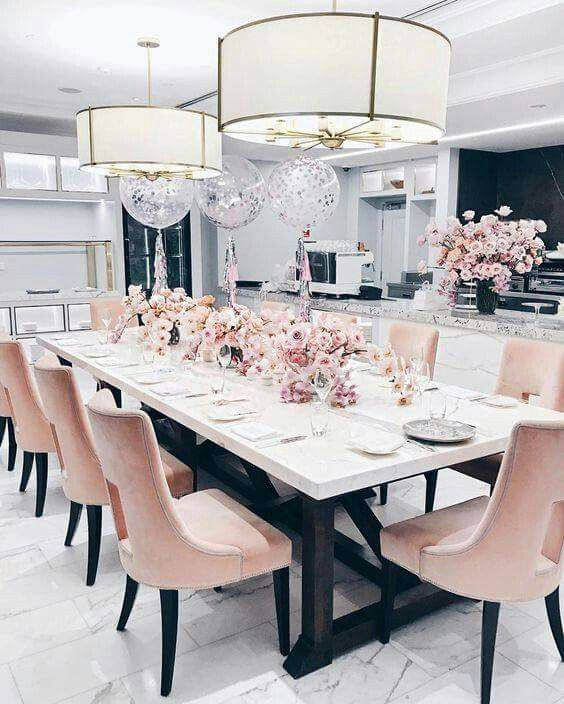 Www Maxglam Co Za Maxglam Decor Trends Dining Pink Dining