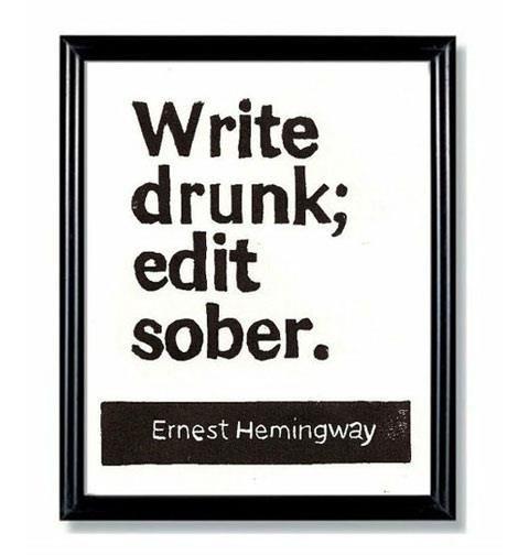 hemingway quote. :)
