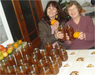 Mlibag: Receita de Schmier ou chimia de bergamota (mexerica)