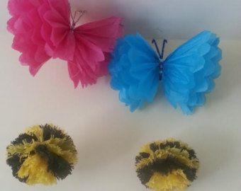 parte silla decoraciones 14 pulgadas mariposa por Ohsopretty37