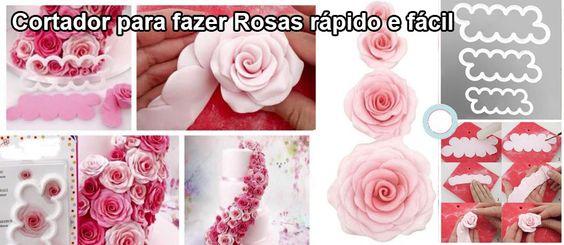 Cortadores para fazer Rosas
