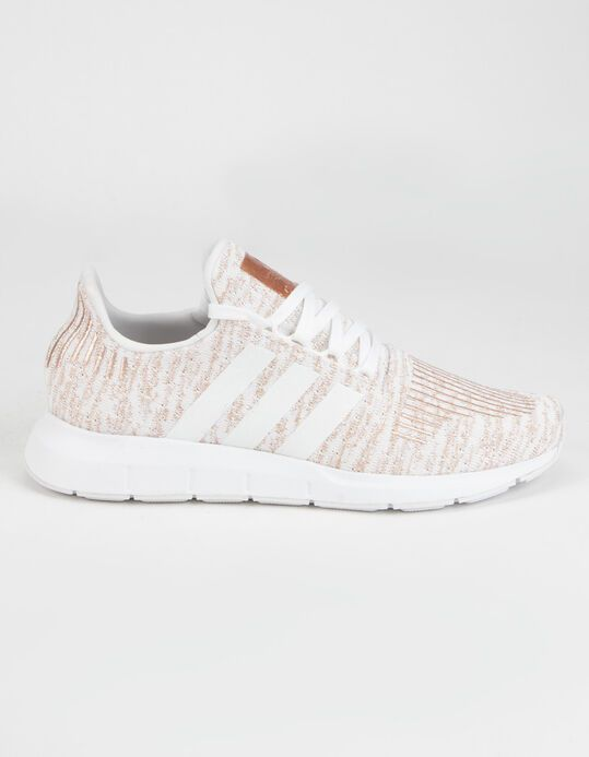 Adidas Swift Run White Rose Gold Womens Shoes Whtco 369361167 Rose Gold Shoes White Shoes Women Rose Gold Sneakers