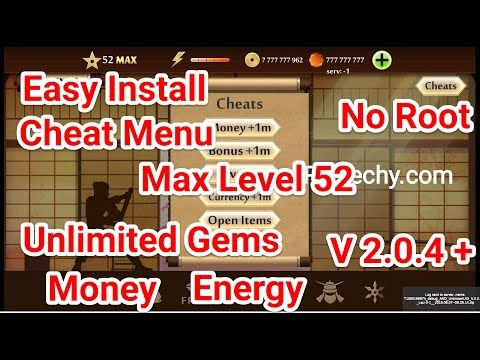 Shadow Fight 2 Max Level 52 Apk New Cheat Menu Unlimited Gems Money Energy Youtube In 2020 Cheating Play Hacks Fight