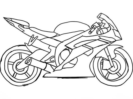 Motor Illustrations Motorbike Drawing Bike Drawing Motorcycle Drawing