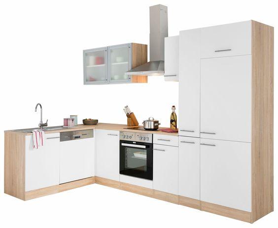 OPTIFIT Winkelküche ohne E-Geräte »Kalmar« weiß Jetzt bestellen - küchenblock 260 cm
