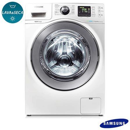 Imagem para Lava & Seca 10,1 Kg Seine Samsung com 14 Programas de Lavagem Branca - WD106UHSAWA a partir de Fast Shop