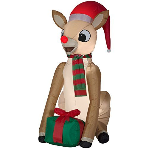 Top Items For 2020 Christmas Top 10 Rudolph Items of 2020 | Christmas inflatables outdoor