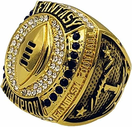 2019 Ffl Champion Ring Gold By Decade Awards In 2020 Fantasy Football Trophy Fantasy Football Championship Rings