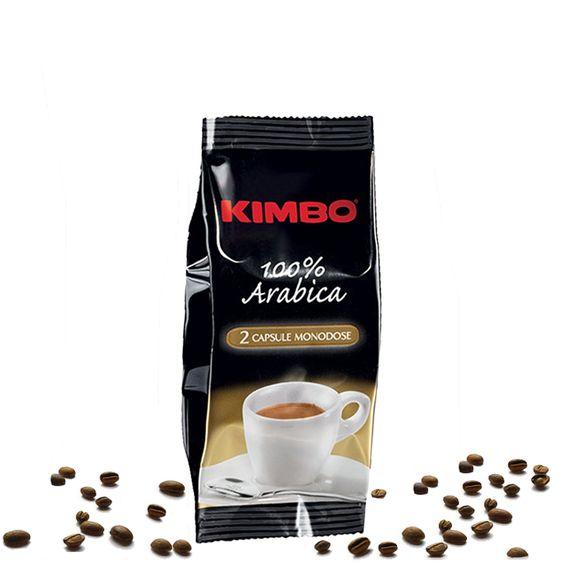 Kimbo Espresso Arabica Kaffee Kapseln 50 x 2 Stück