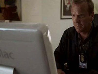 Apple Product Placements In TV And Movies - 24 #productplacement
