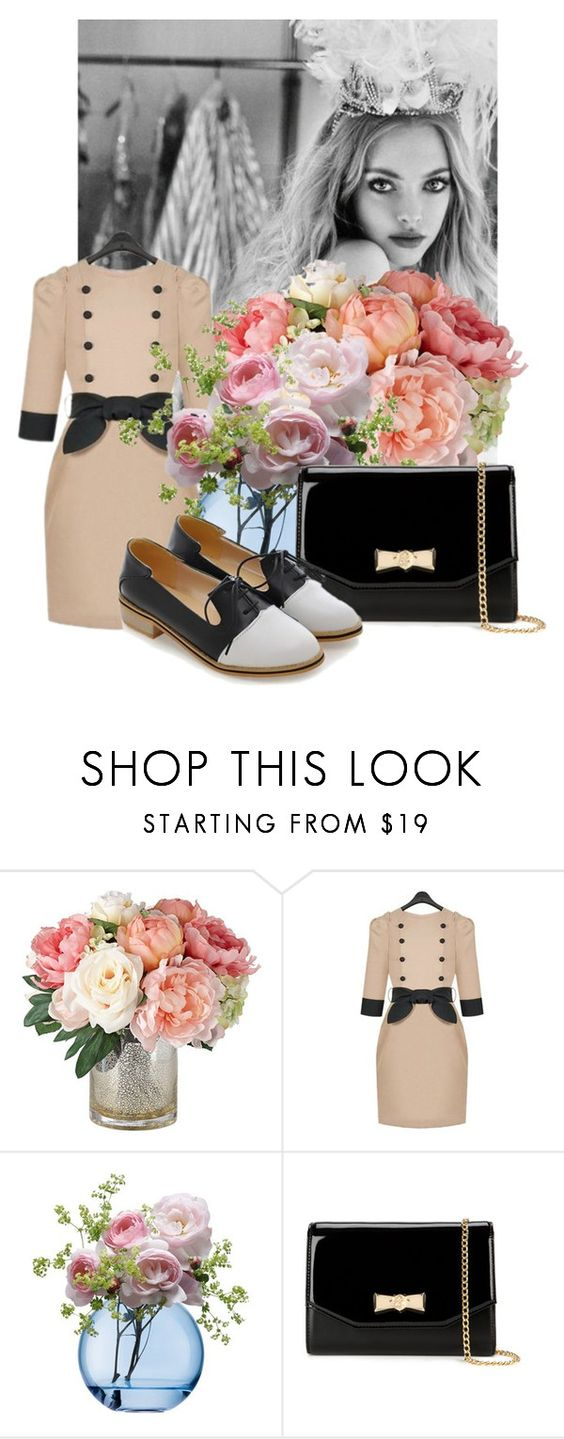 """""""Rosegal I/6"""" by belle-papillon ❤ liked on Polyvore featuring LSA International, Ted Baker and vintage"""