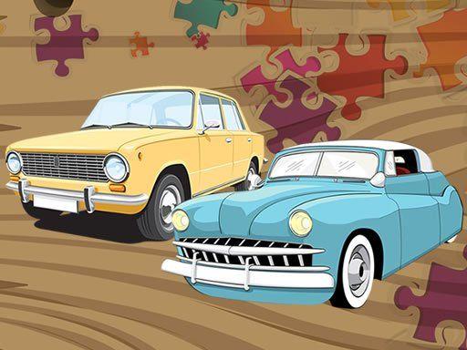 لعبة بازل تجميع صور السيارات القديمة Old Timer Car Jigsaw Logic Puzzle Games Jigsaw Puzzle Games Car