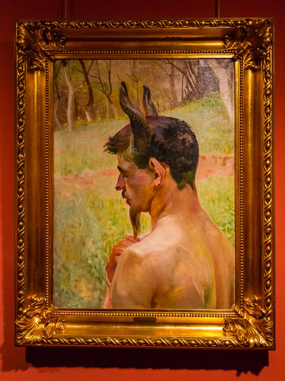 Rare painting of one of the most adored Polish Symbolists Jacek #Malczewski, Secession Museum, Plock, Poland