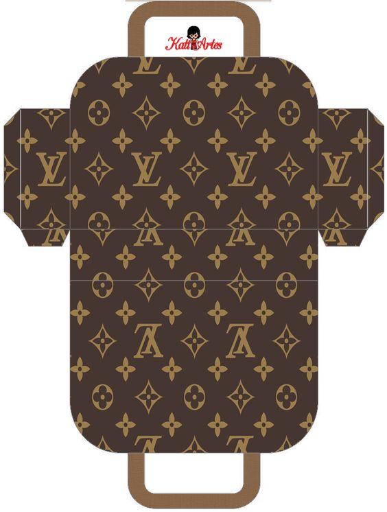 Louis Vuitton: Bolsos para Imprimir Gratis. | Ideas y material gratis para fiestas y celebraciones Oh My Fiesta!