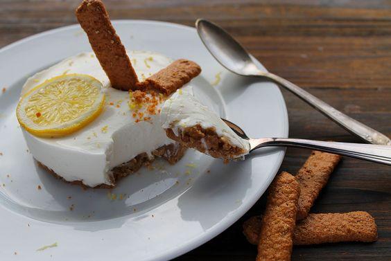 Cheesecake sans cuisson réalisé par Emilie et Léa, avec les biscuits Aristocade