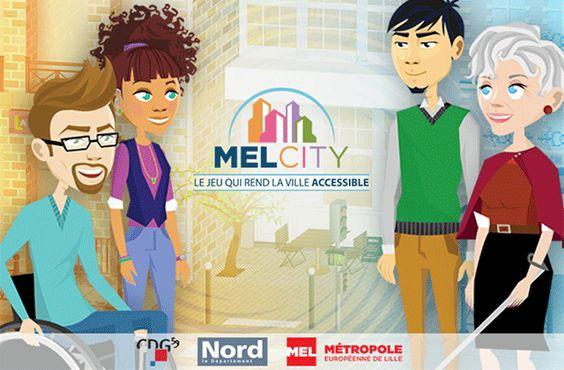 La MEL sort son serious game MELCITY, un jeu de sensibilisation à l'accessibilité