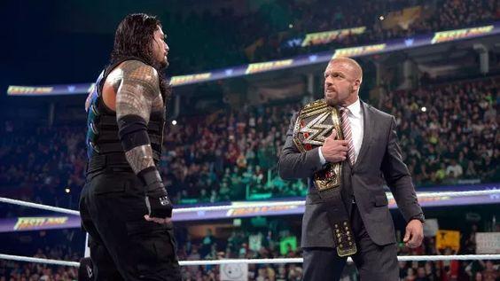 Fastlane 2016 : Roman Reigns a battu Brock Lesnar et Dean Ambrose lors d'un Triple Threat Match. Grâce à cette victoire, il affrontera Triple H à WrestleMania pour le WWE World Heavyweight Championship.