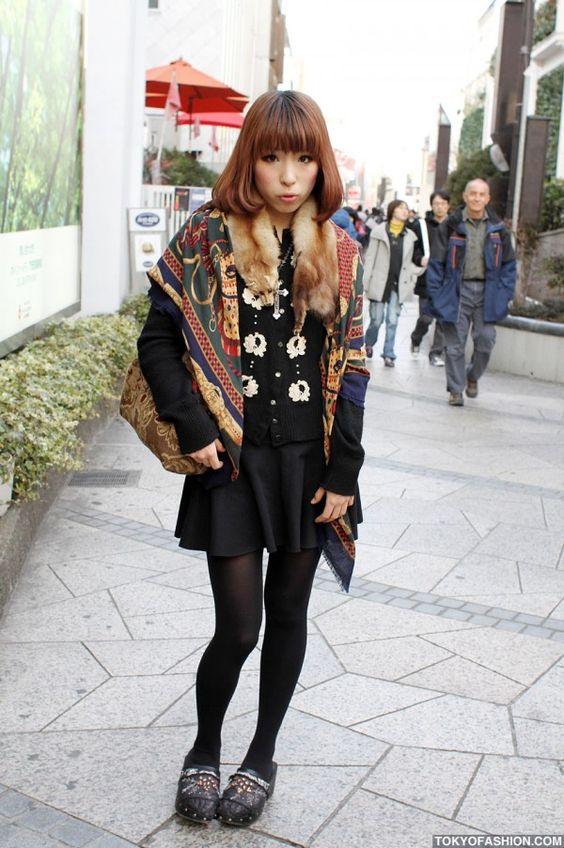 Vintage Dolly-kei Fashion in Tokyo