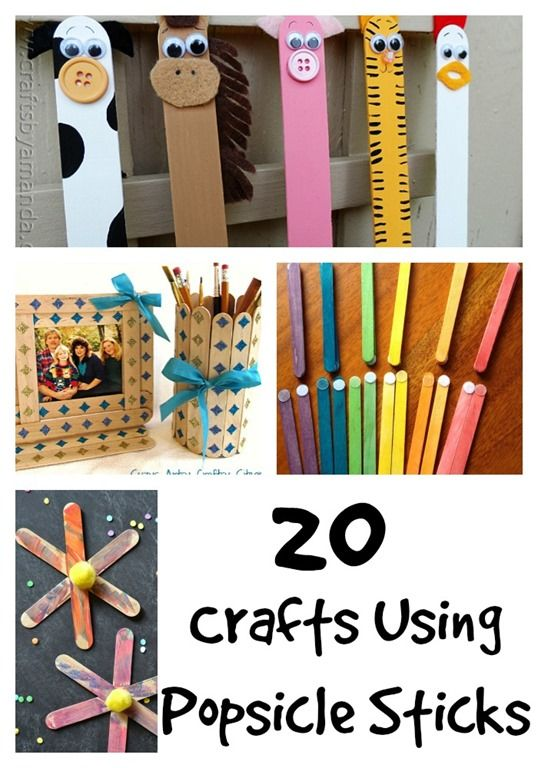 20 crafts using popsicle sticks puppets plan markets for Christmas projects with popsicle sticks