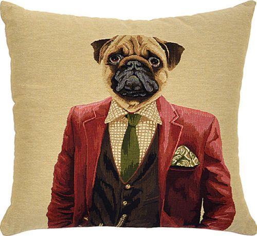 Adorabella-Dapper-Dog-Patrick-Cushion-New-On-Wayfair-Australia