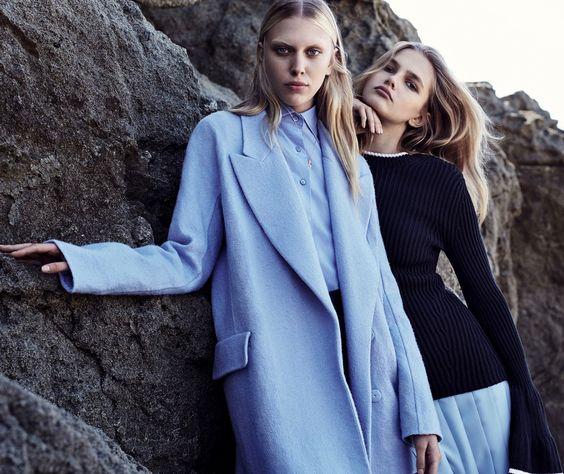 Juliana Schurig & Aneta Pajak for Vogue China May 2016
