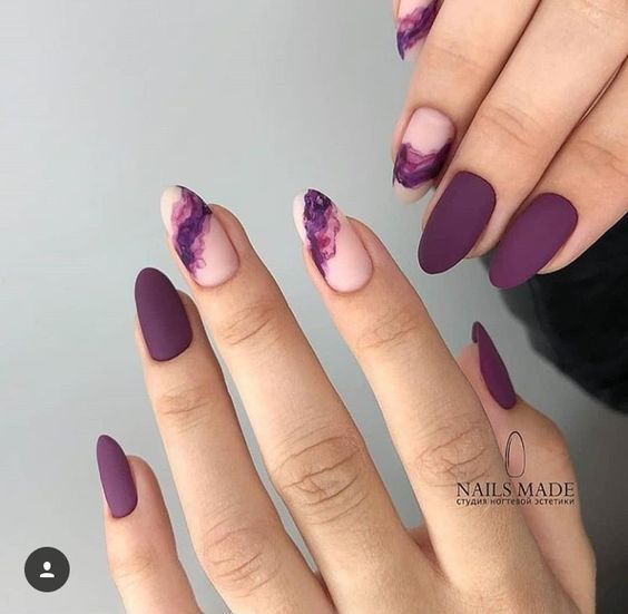 60 Unique Matte Nail Ideas To Elevate Your Look With Images