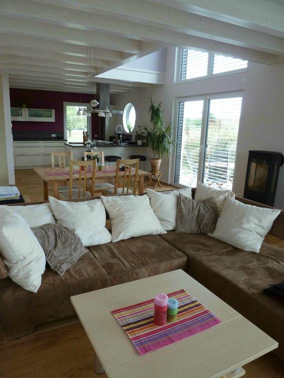 Innenausbau Haus, Innenausbau Ideen, Innenausbau Modern - moderne wohnzimmer pflanzen