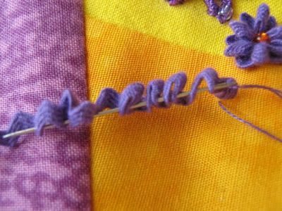 Threads and patches: Rick rack flowers: a tutorial