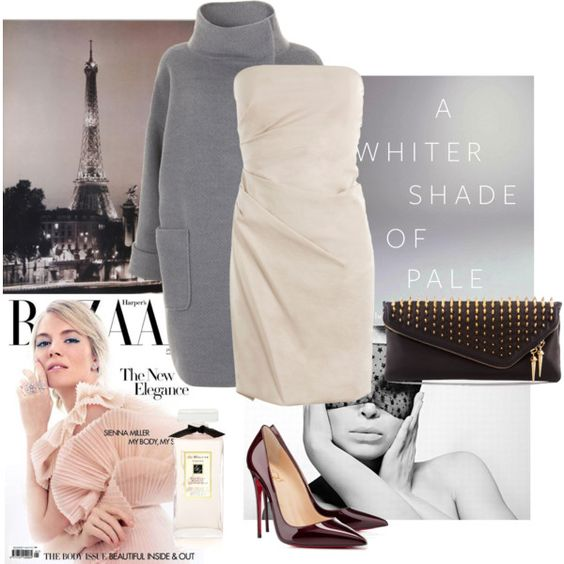 """A Winter Shade of Pale"" by samantha-boni on Polyvore"