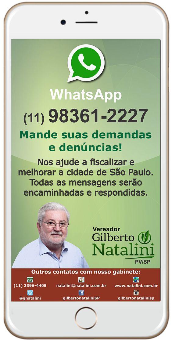 Gilberto Natalini SP | Plantando meio ambiente, colhendo vida saudável
