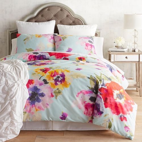 Bright And Beautiful That S An Apt Description Of Our Bold Blooms Duvet Covers And Shams B Colorful Duvet Covers Hotel Collection Bedding College Duvet Cover