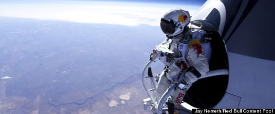 Forget #Skydiving and get ready for #Spacediving.. how awesome would that be!
