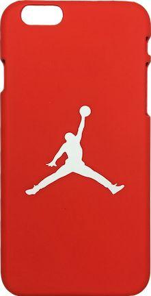 "Nike Jordan Red White ""Jumpman Logo"" Hard Plastic iPhone 6/6s Case"