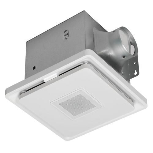 Home Netwerks 110 Cfm Square Led Bt Bath Fan At Lowe S Featuring
