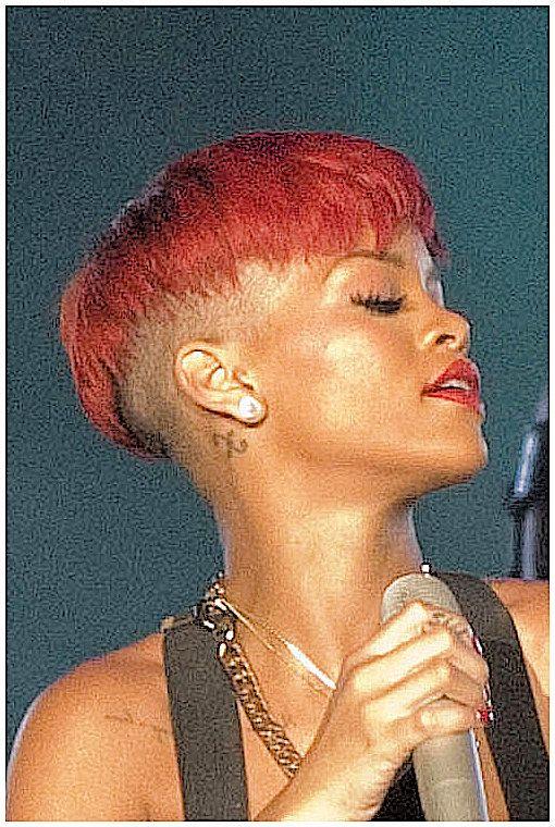 Rihanna's concert during the Rock in Rio in Arganda del Rey on June 5, 2010 in Madrid, Spain.