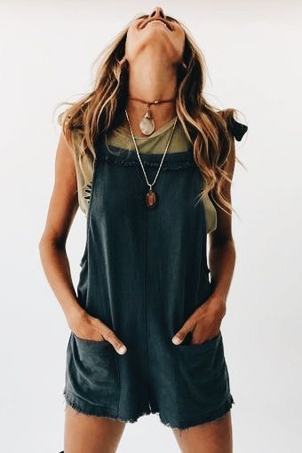 These boho overalls are so cute! They look so comfy too. #sponsored #affiliate