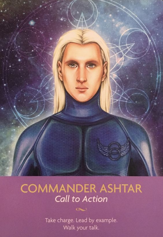 COMMANDER ASHTAR PUBLISHED FEBRUARY 19, 2017 BY DEE ~ ARCHANGEL ORACLE Daily Angel Oracle Card: Commander Ashtar, from the Keepers Of The Light Oracle Card deck, by Kyle Gray, artwork by Lil…: